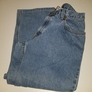 Levi's Size 16 Husky Relaxed Fit 550 Jeans